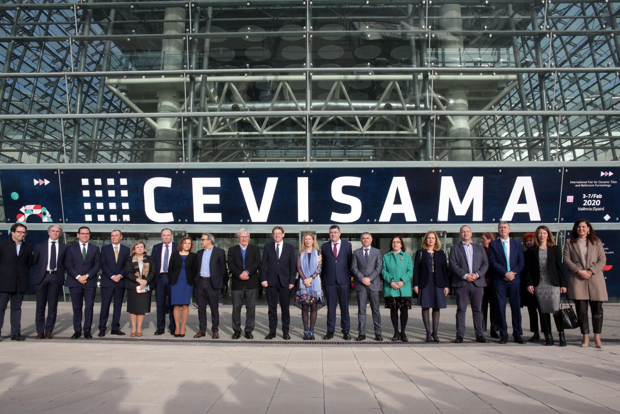 CEVISAMA 2020. Inauguración por Ayuntamiento de Valencia is licensed under CC BY-ND