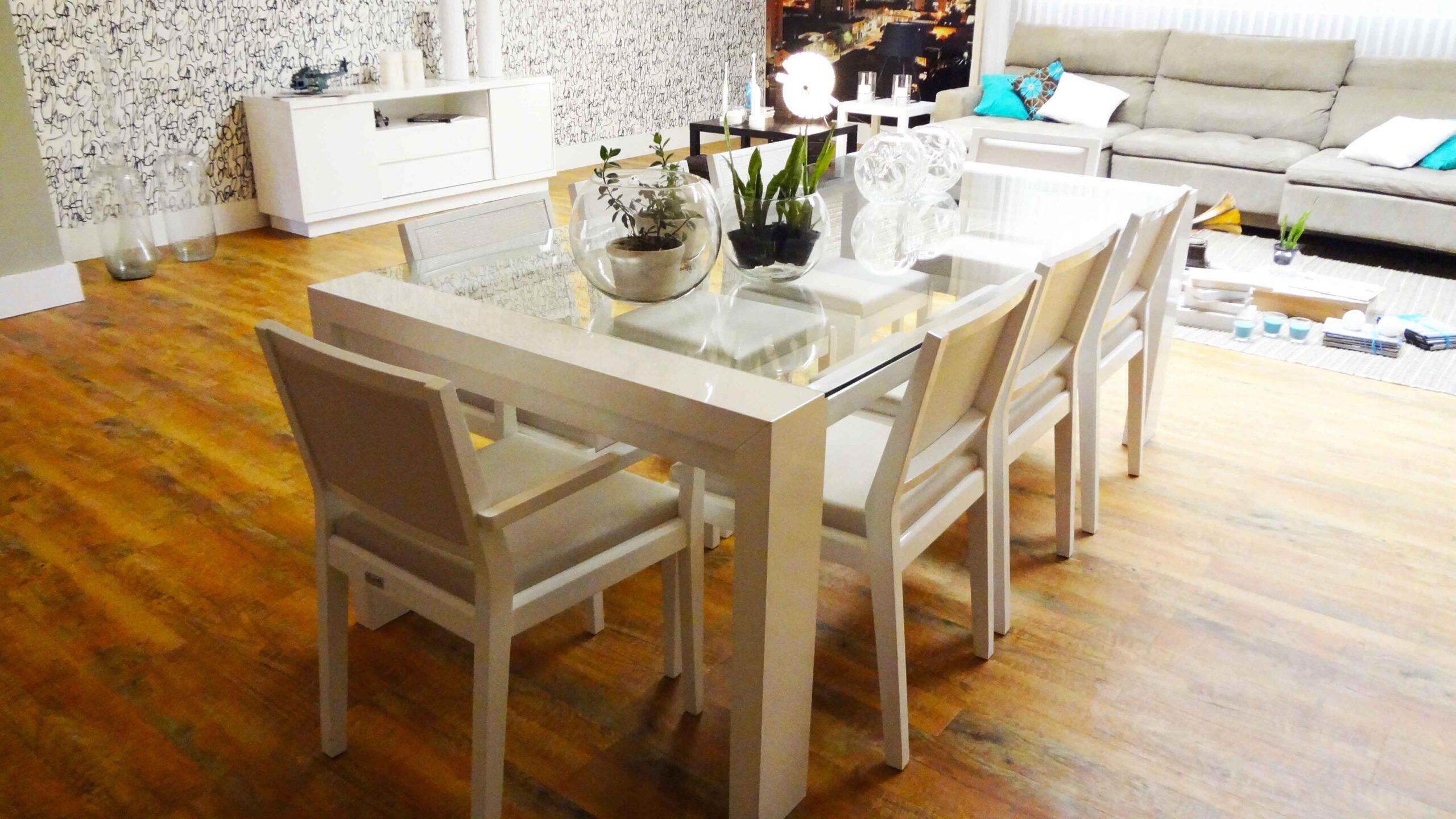 mesas para comedores y cocinas